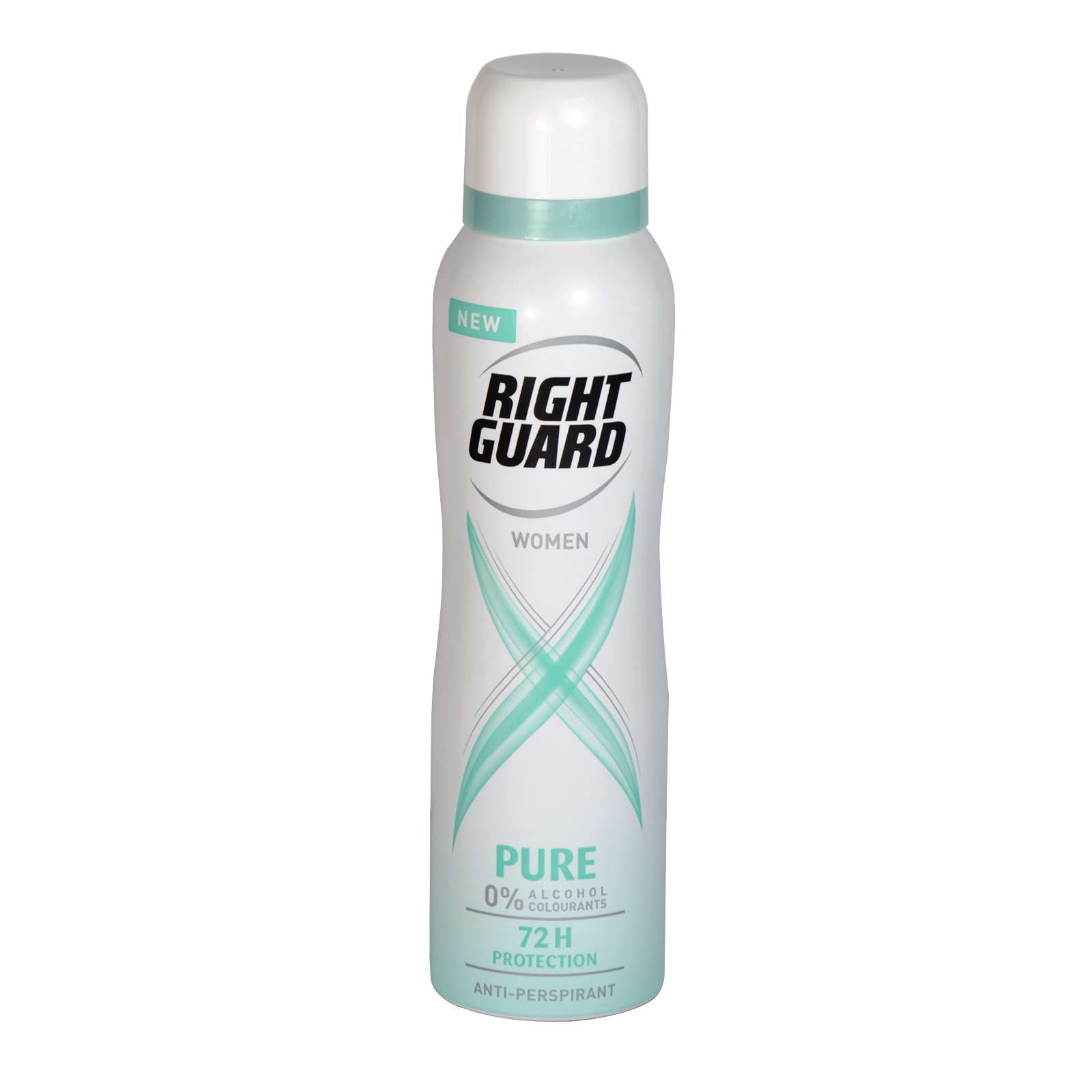 RIGHT GUARD XTREME APA FOR WOMEN 150ML PURE X6