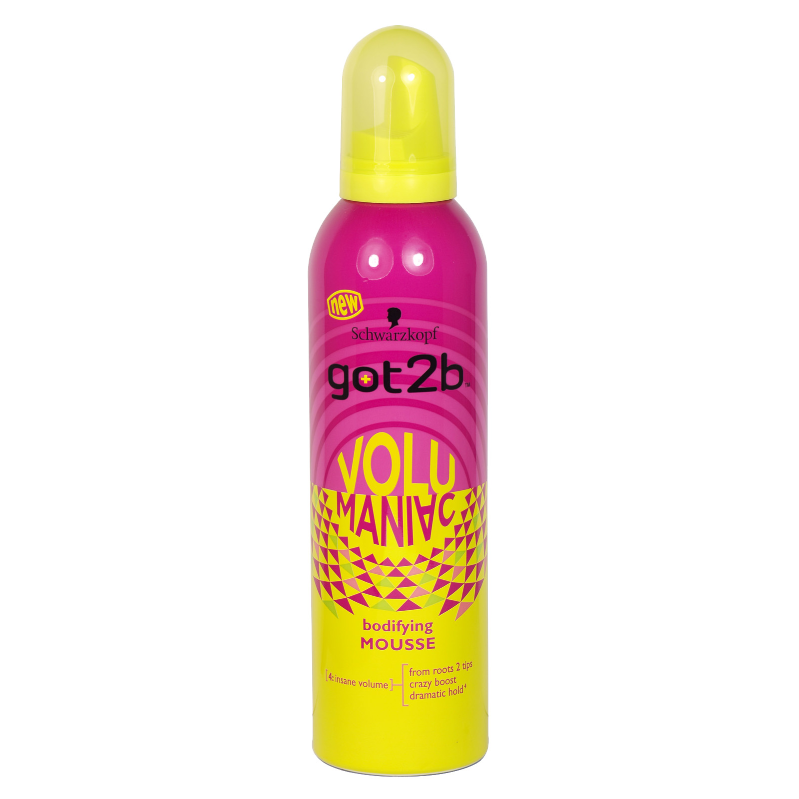 GOT 2B VOLUMANIAC BODIFYING MOUSSE 250ML X6