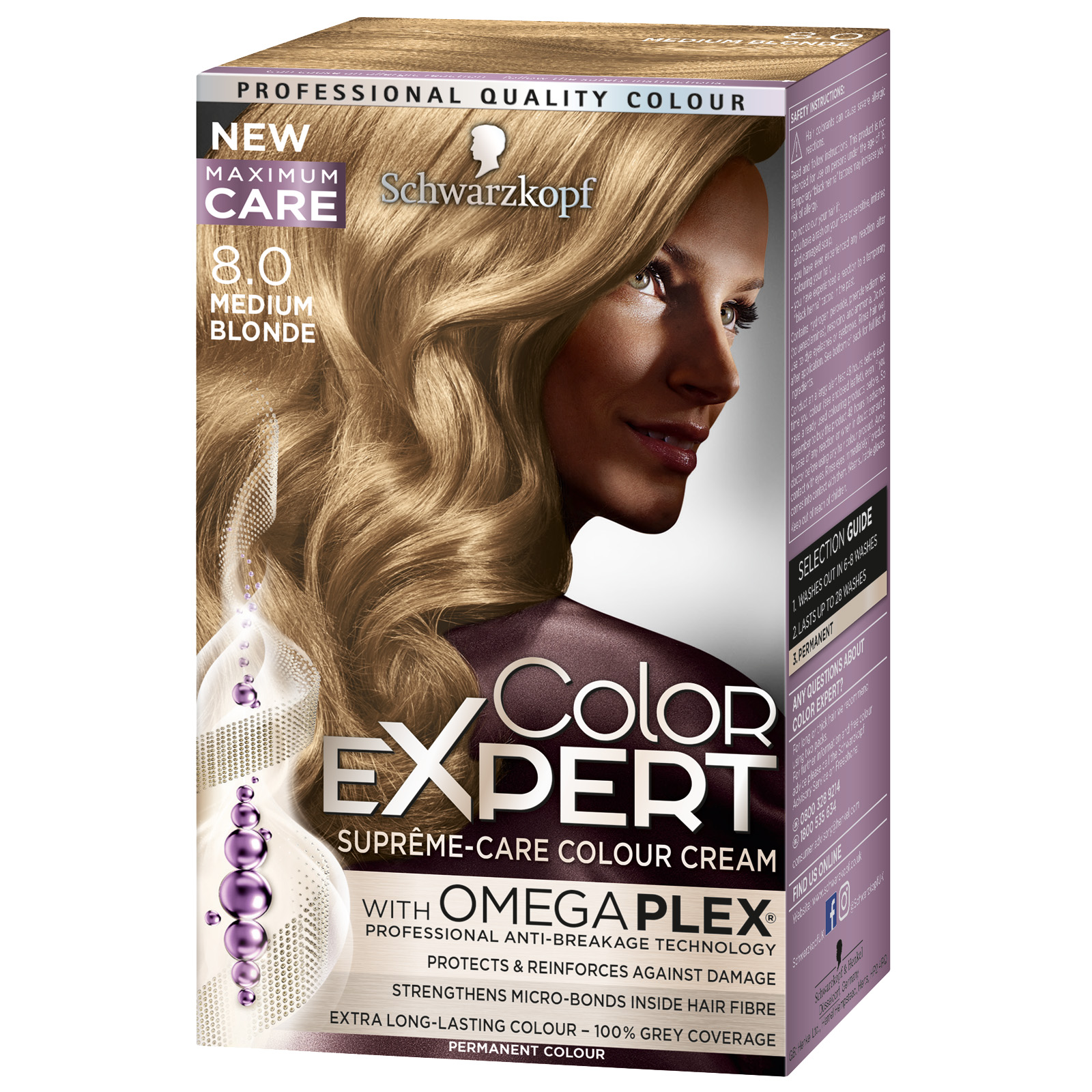COLOR EXPERT HAIR COLOUR MEDIUM BLONDE X3