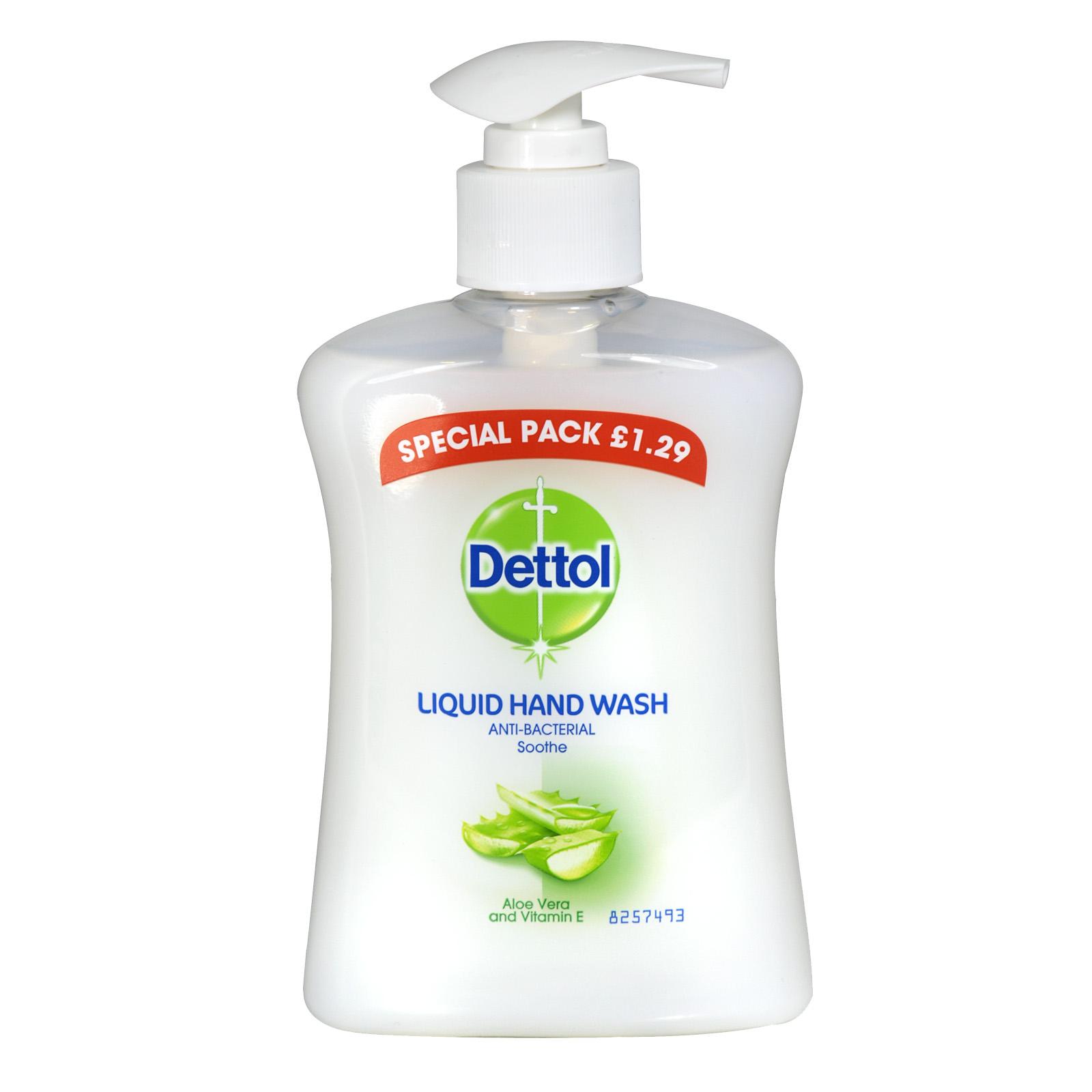 DETTOL LIQUID SOAP 250ML MOISTURE ?1.29  X6