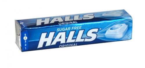 HALLS MENTHO-LYPTUS S/F ORIGINAL RSP 75P