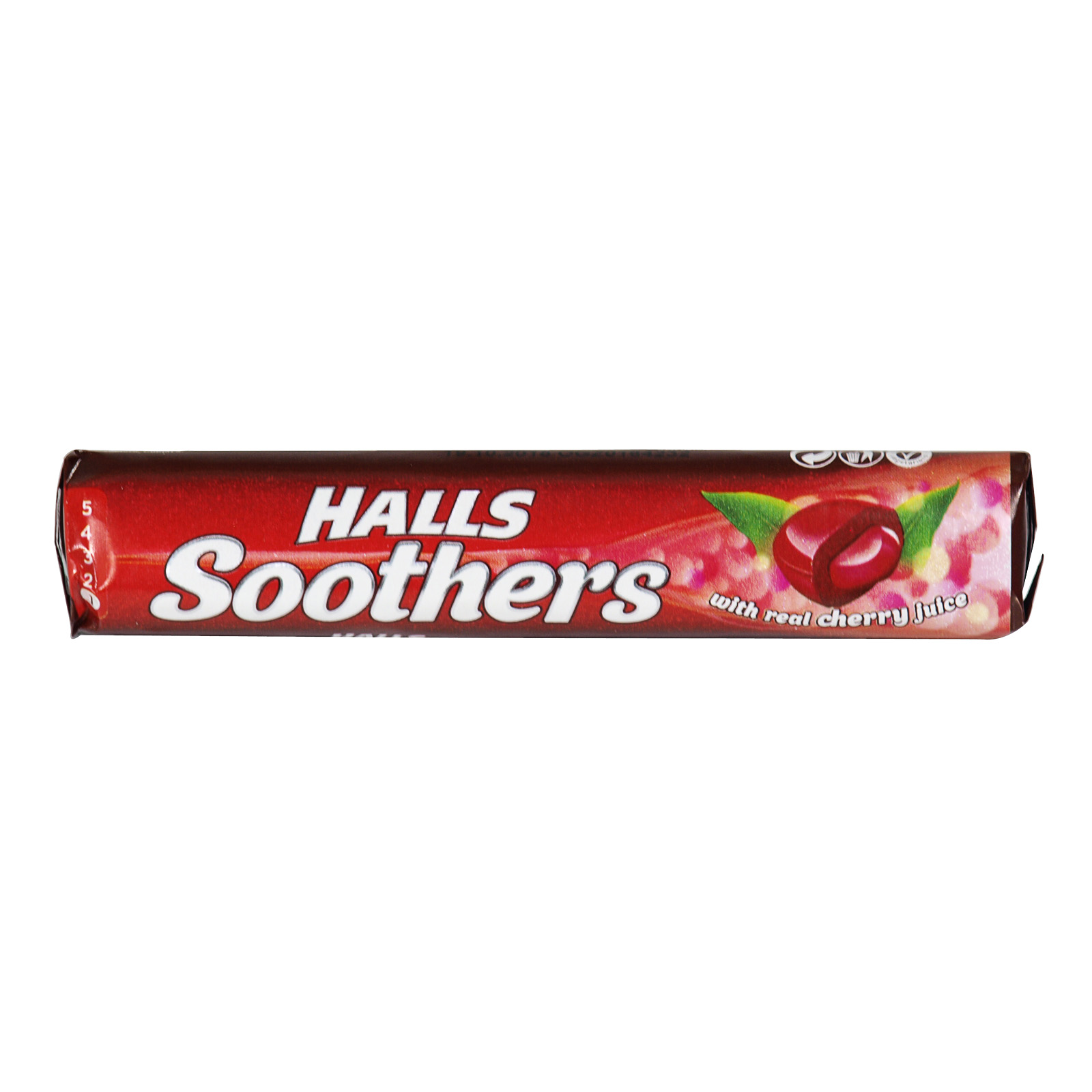 HALLS SOOTHERS CHERRY RSP 72P X20