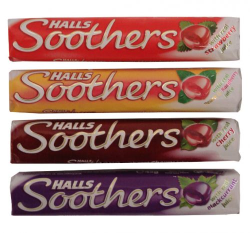 HALLS SOOTHERS PEACH+RASPBERRY RSP 72P