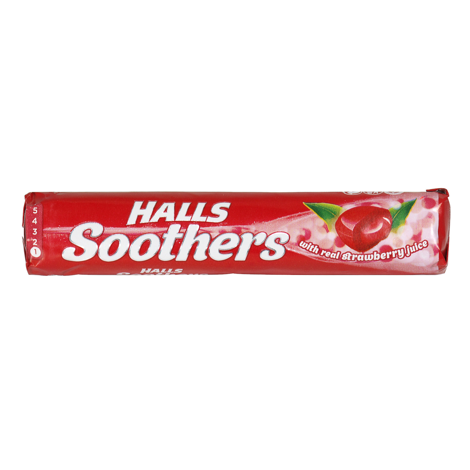 HALLS SOOTHERS STRAWBERRY RSP 72P X20