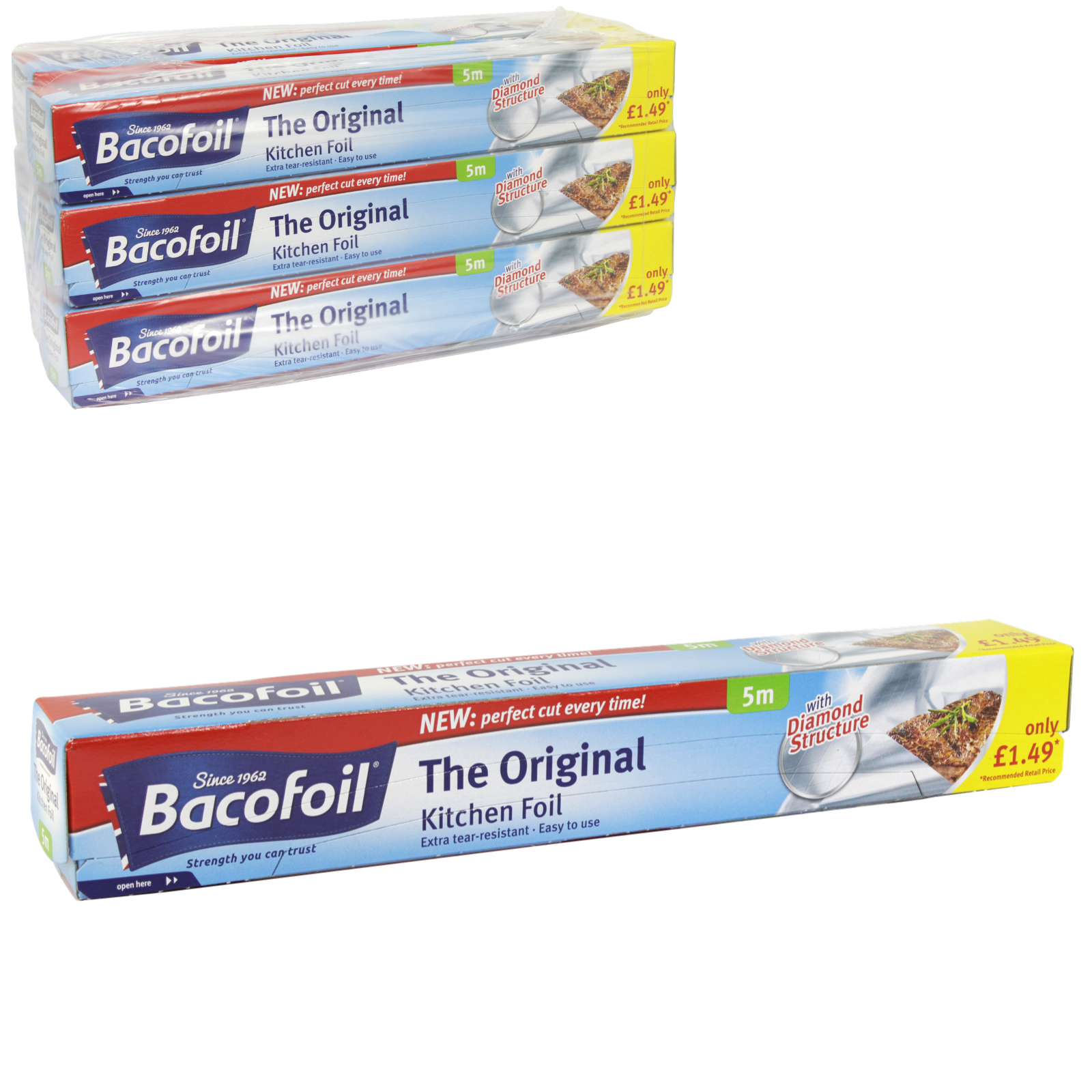 BACOFOIL THE ORIGINAL FOIL 300MMX5M X6