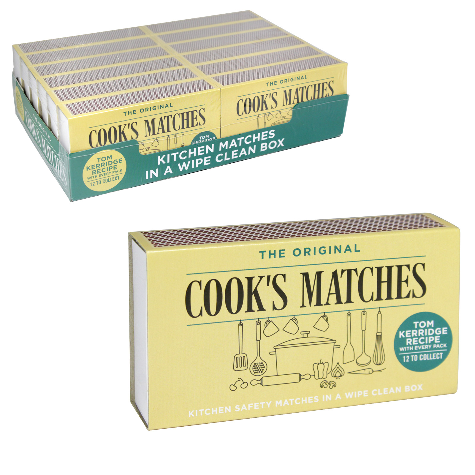 COOKS SAFETY MATCHES 220S X12