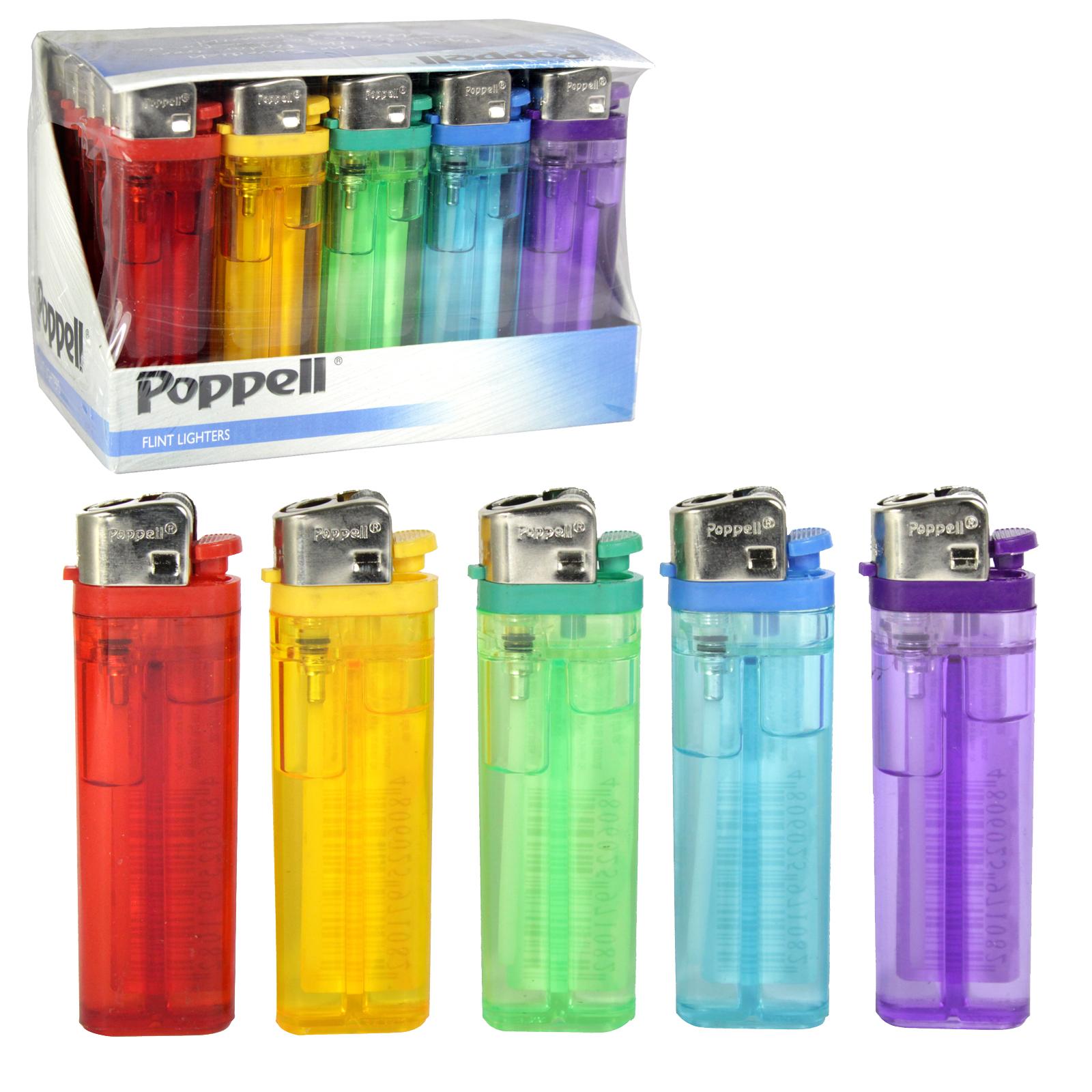 POPPELL FLINT LIGHTERS T25 X25