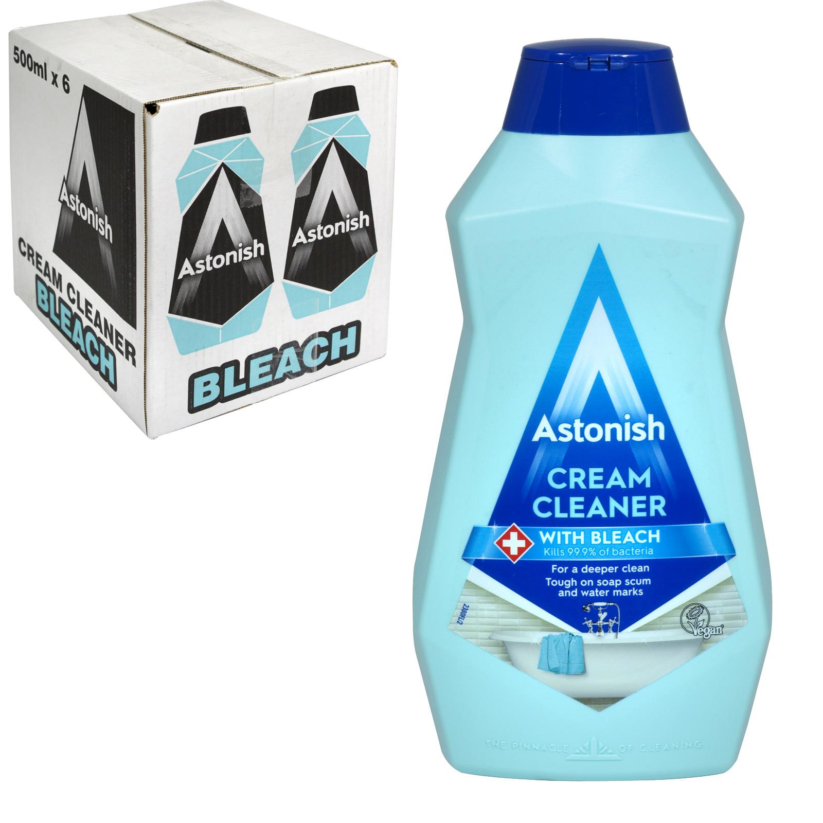 ASTONISH 500ML CREAM CLEANER+BLEACH X12