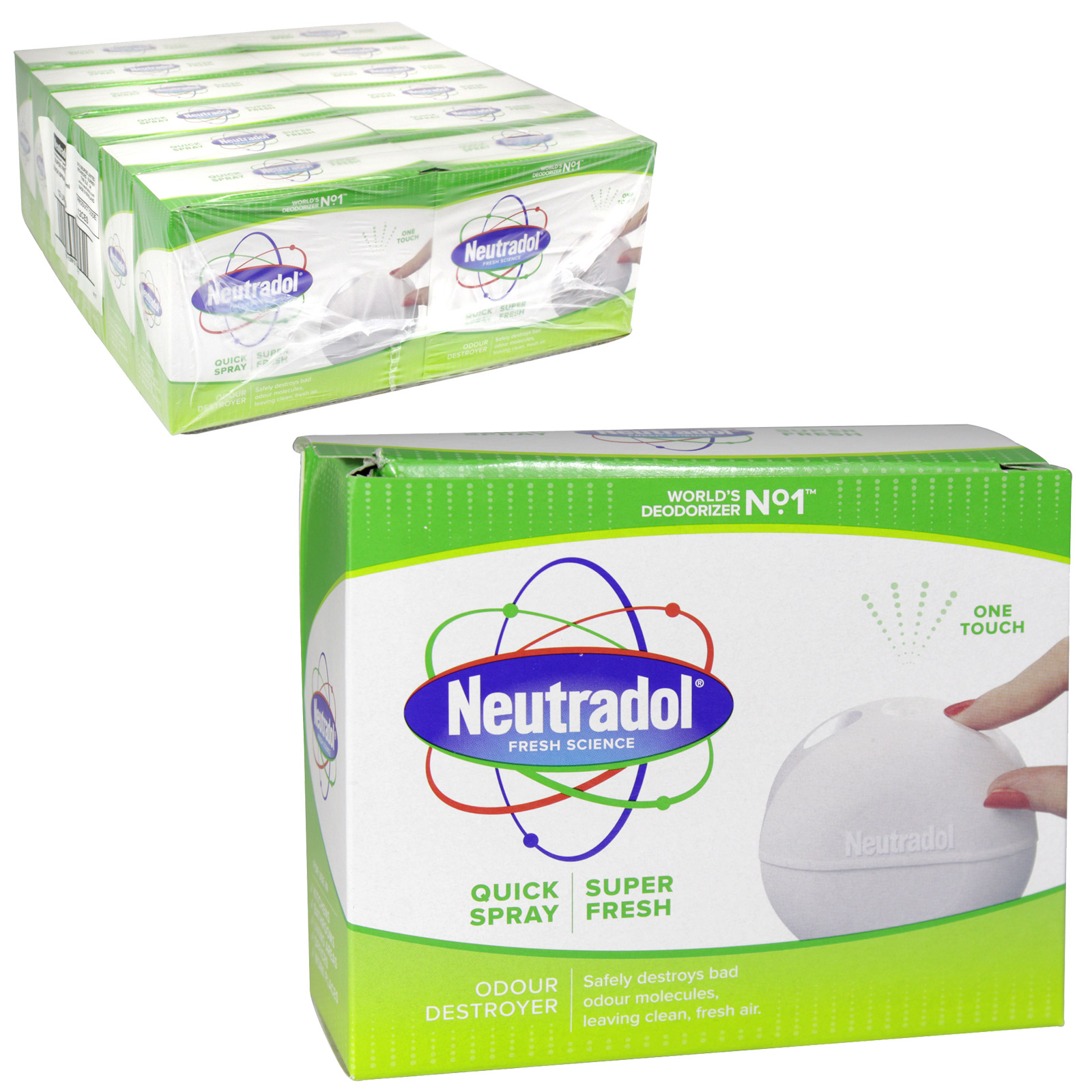NEUTRADOL QUICK SPRY 50ML SUPERFRESH X 12