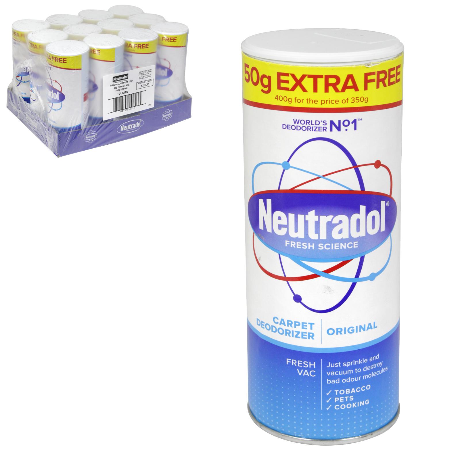 NEUTRADOL CARPET FRSH 350+50GM ORIGINAL X12