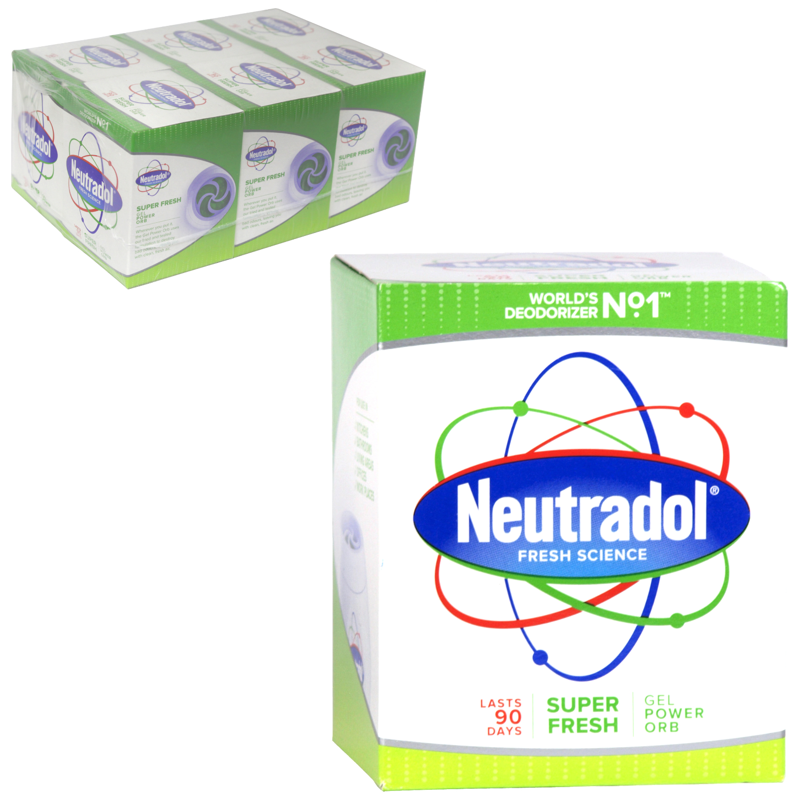NEUTRADOL GEL AIR FRESH 140G SUPER FRESH X6