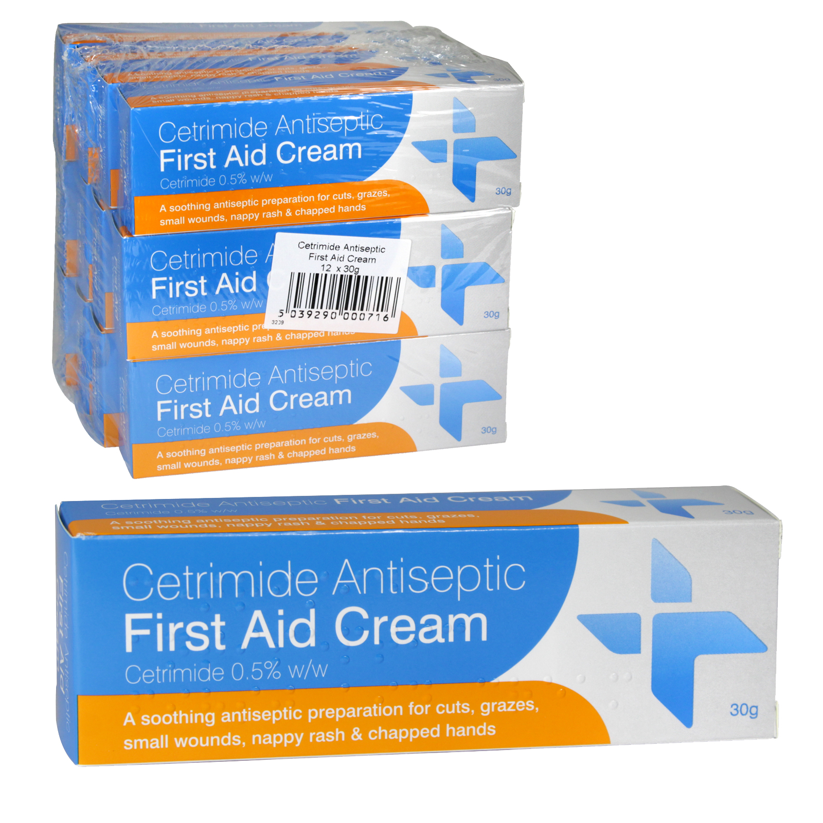 ANTISEPTIC FIRST AID CREAM 30GM X12  (NON RETURNABLE)