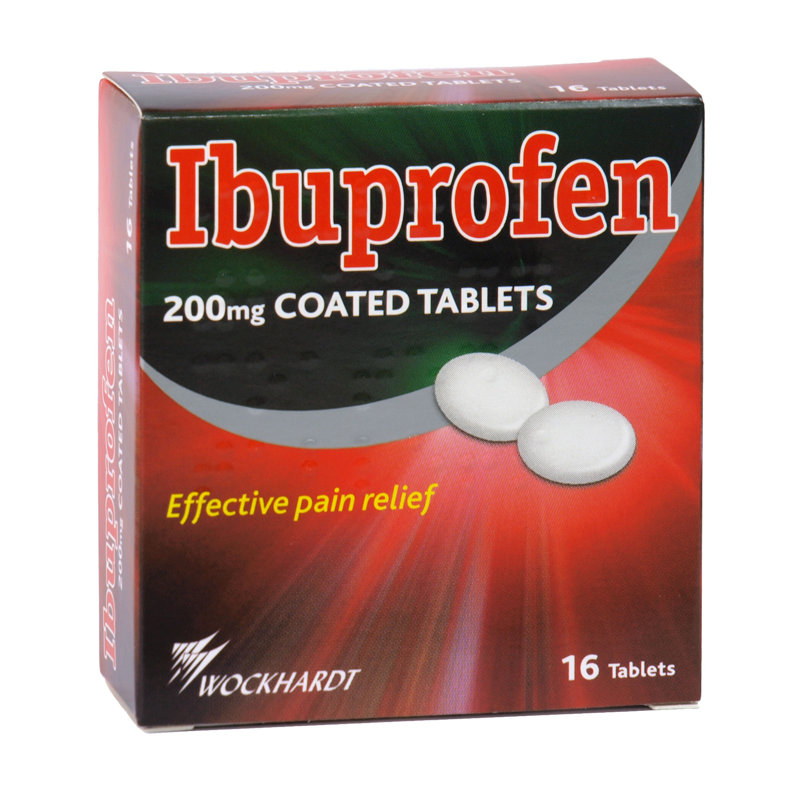 IBUPROFEN TABLETS 16X200MG X12 (NON RETURNABLE)