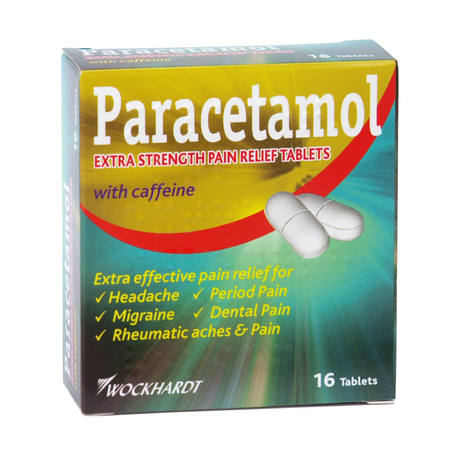 PARACETAMOL EXTRA TABS+CAFFEINE 16S X12 (NON RETURNABLE)