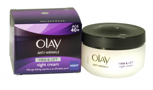 OLAY ANTI-WRINKLE FIRM & LIFT 50M NIGHT 40+  X4