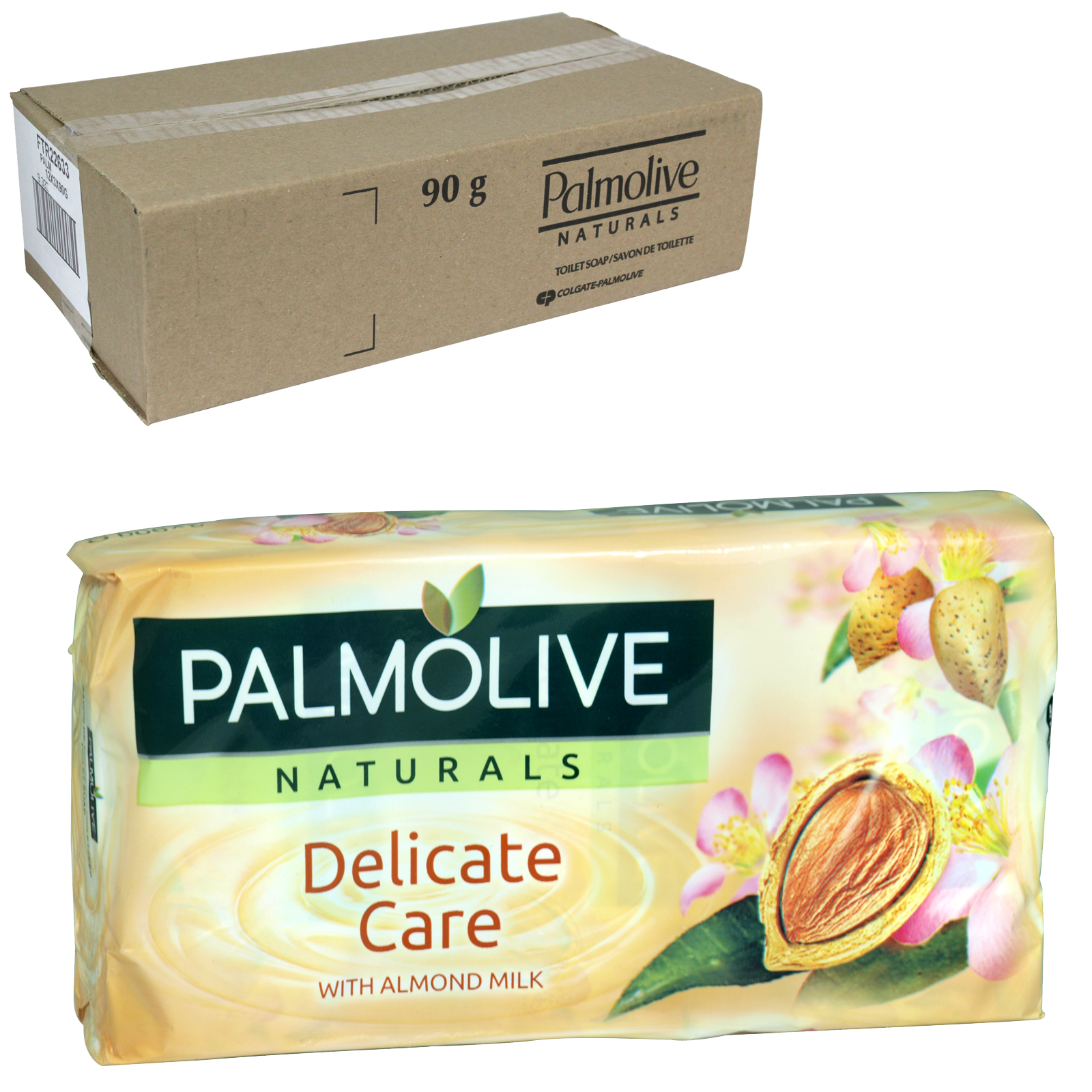 PALMOLIVE SOAP 3X90GM DELICATE CARE X12