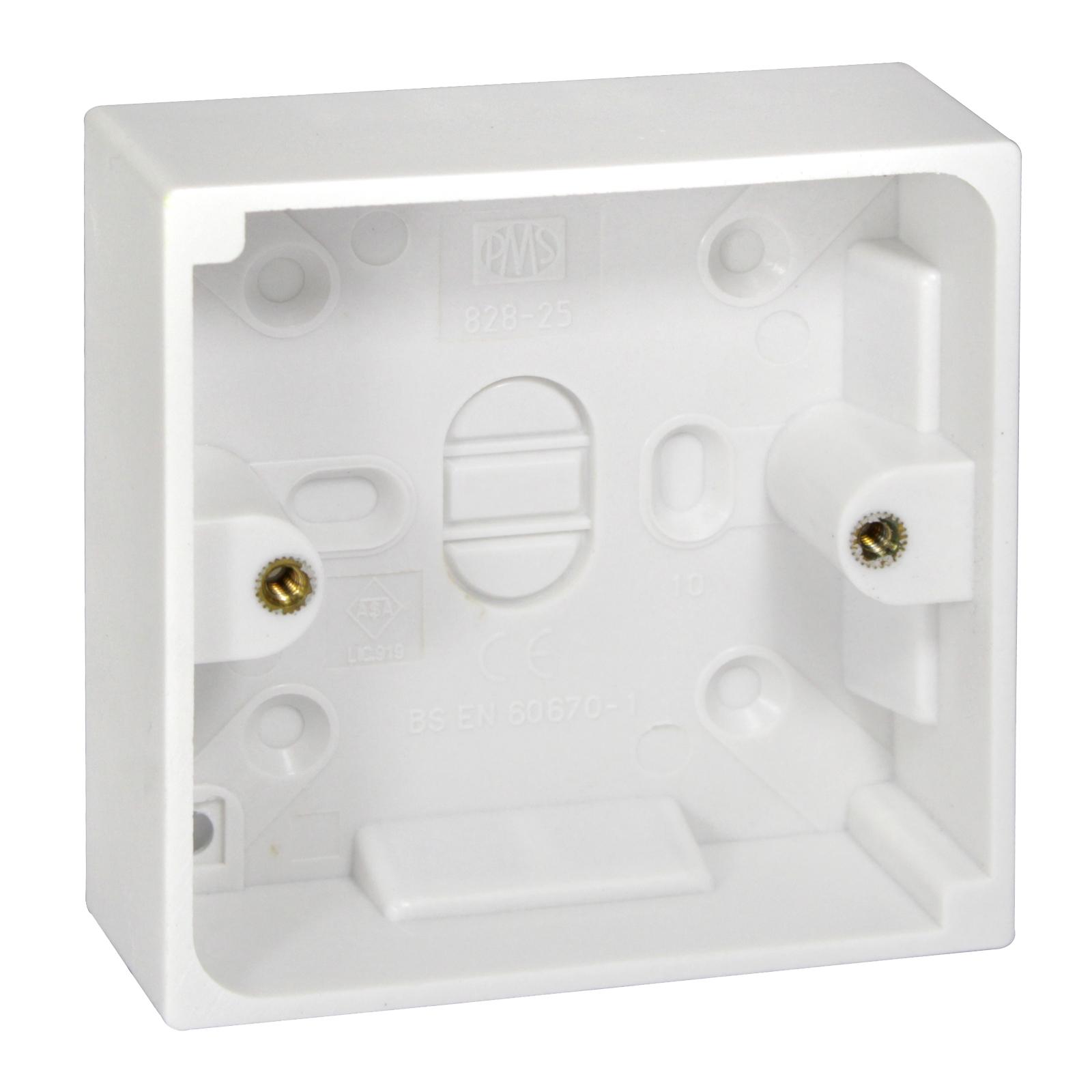PIFCO PATTRESS BOX 1GANGX25MM