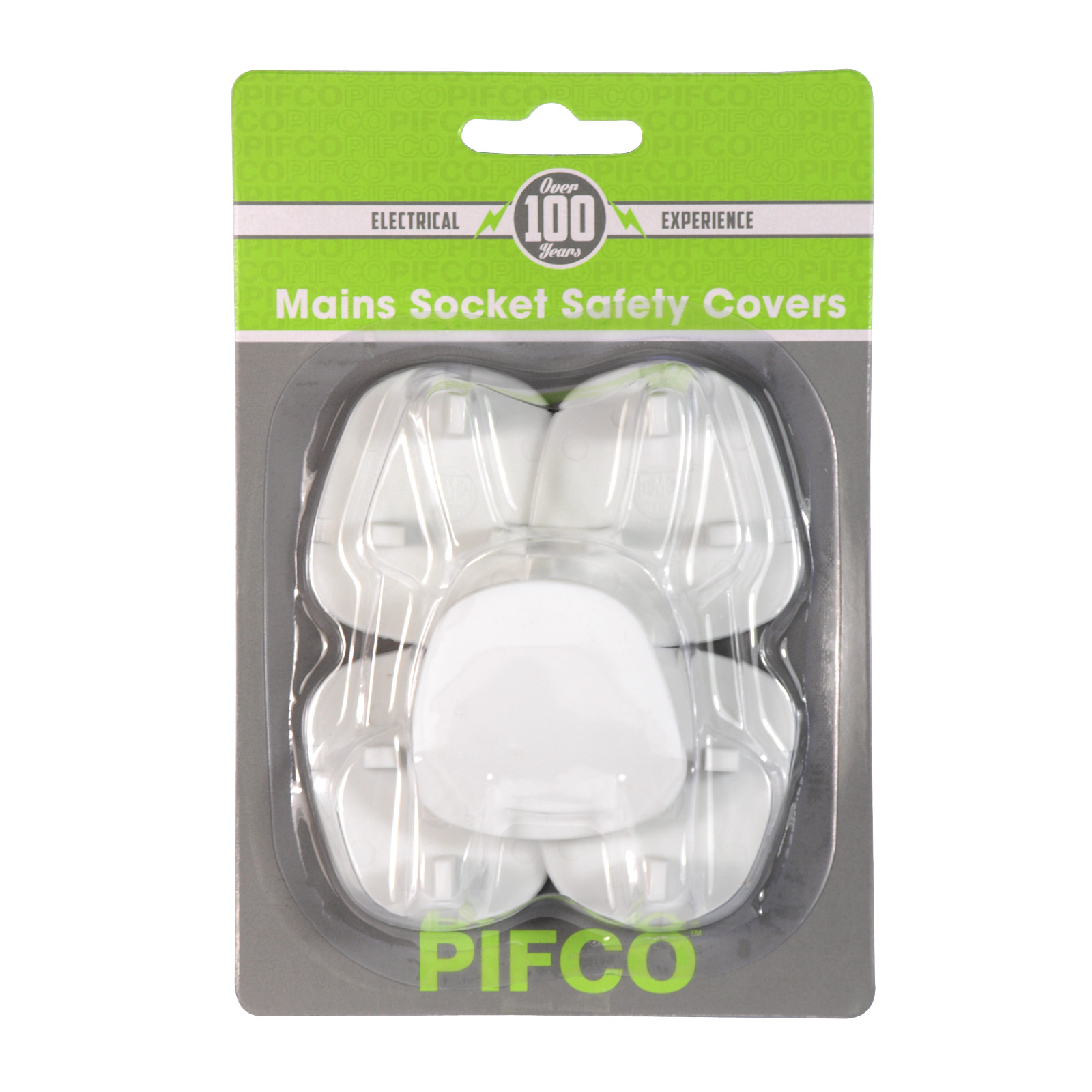 PIFCO 5 MAINS SOCKET SAFETY COVERS