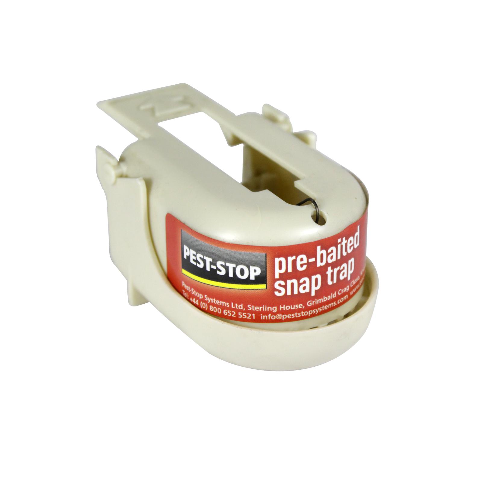P-STOP PRE-BAITED MOUSE SNAPTRAP U/B