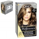 INFINIA PREFRENCE HAIR COLOUR 6 CAPRI NATURAL LIGHT BROWN X3