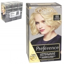 INFINIA PREFERENCE HAIR COLOUR 03 LIGHTEST ASH BLONDE X3