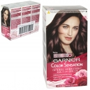 GARNIER HAIR COLOUR - ICY CHESTNUT 4.15 - X3