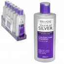 TOUCH OF SILVER SHAMPOO 200ML COLOUR CARE X6