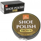 JUMP SHOE POLISH 80GM TIN BROWN X6