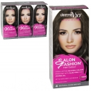 DERMA V10 SALON FASHION HAIR COLOUR 4.0 DARK BROWN X6
