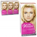 DERMA V10 SALON FASHION HAIR COLOUR 10.01 EXTRA LIGHT NATURAL BLONDE X6
