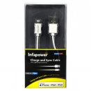 INFAPOWER APPLE LIGHTNING CHARGE+SYNC CABLE IPOD-IPHONE-IPAD