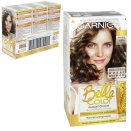 BELLE COLOR 6 NATURAL LIGHT BROWN X3