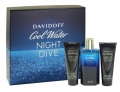 DAVIDOFF COOL WATER NIGHT DIVE 3 PIECE EDT GIFT SET
