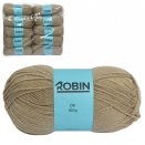 ROBIN 4032 DOUBLE KNIT WOOL WEIGHT 100GM LENGTH 300M LATTE X10