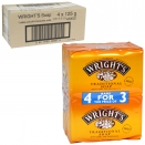 WRIGHTS COAL TAR SOAP 4X125G X6
