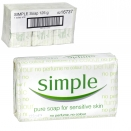 SIMPLE SOAP 125GM X6