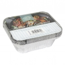 KINGFISHER 9PK MED FOIL CONTAINER+LID