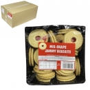 MIS-SHAPES JAMMIE BISCUITS 450GM X 18