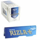 RIZLA CIGARETTE PAPERS STD BLUE 50 LEAVES X100