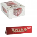 RIZLA CIGARETTE PAPERS KING SIZE RED 32 LEAVES X50