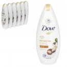 DOVE BODYWASH 250ML SHEA BUTTER X6