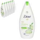DOVE BODY WASH 500ML GO FRESH CUCUMBER+GREEN TEA X 6