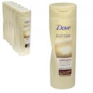 DOVE BODY LOTION 250ML VISIBLE GLOW SELF-TAN MEDIUM-DARK SKIN X6