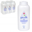 JOHNSONS BABY POWDER 200GM X6