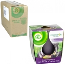 AIRWICK CANDLE 105GM PURPLE BLACKBERRY+SPICE X6