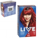 SCHWARZKOPF LIVE HAIR COLOUR PERMANENT REAL RED X3