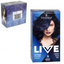 SCHWARZKOPF LIVE HAIR COLOUR PERMANENT COSMIC BLUE X3
