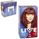 SCHWARZKOPF LIVE HAIR COLOUR PERMANENT RED PASSION X3