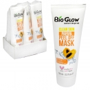 BIOGLOW CRUELTY FREE+VEGAN FRIENDLY PEEL OFF FACE MASK 100ML PAPAYA X6