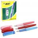 BIC FOR SCHOOL FOUNTAIN PEN ASS X12